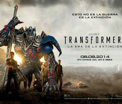"""Transformers 4 """"La era de la extinción"""""""